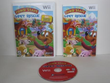 Jump Start: Pet Rescue - Wii Game